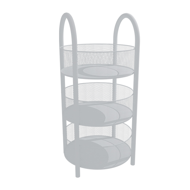 3 Layer Round Basket