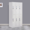 6 Door Metal Storage Locker