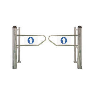 Supermarket turnstile gate