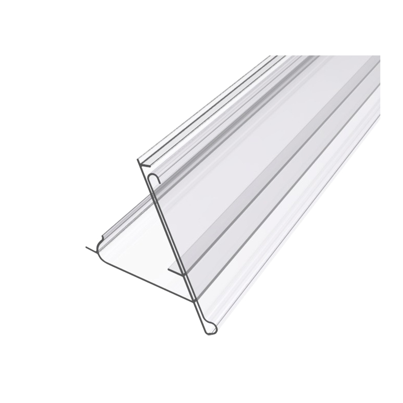 price holder for metal shelving