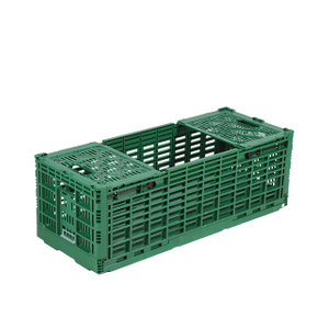 Plastic Foldable Crates for Moving Transport Fresh Cut Flower