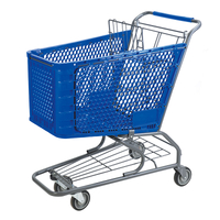 Plastic Shopping Cart P-2(120L)