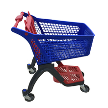 2018 July New plastic shopping cart P-12A120L