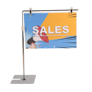 Table Top Sign Holder