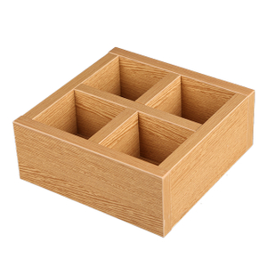 Wooden Display Box for Beauty Supply Store