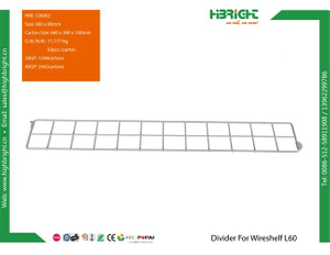 Divider For Wireshelf L60