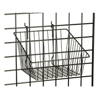 Gridwall Basket with Angled Design For Bulk Displays
