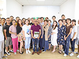 Zhangjiagang E-commerce Delegation visit Highbright office with a management forum