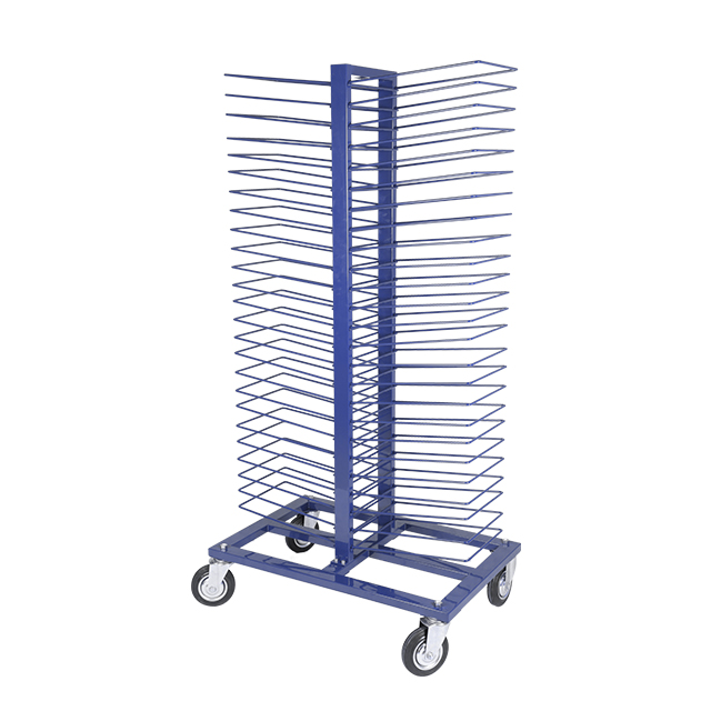 Heavy Duty Panel Rack for Wooden Floor Display