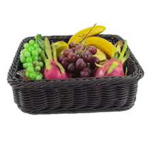 Rectangle Rattan Basket for Fruit And Vegetable Display